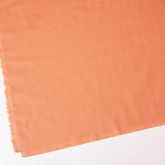 コットン&リネン×無地(キャロットオレンジ)×ヘリンボーン_全2色 サムネイル2