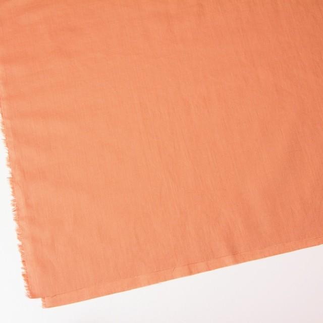 コットン&リネン×無地(キャロットオレンジ)×ヘリンボーン_全2色 イメージ2