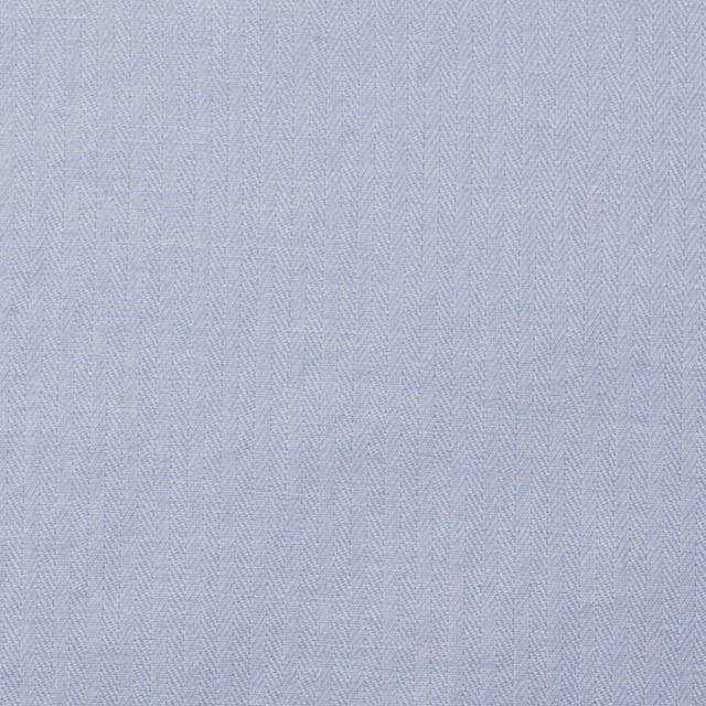 コットン&リネン×無地(フロスティーブルー)×ヘリンボーン_全2色 イメージ1