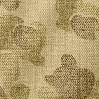 コットン×迷彩(ベージュミックス)×かわり織_全2色 サムネイル1