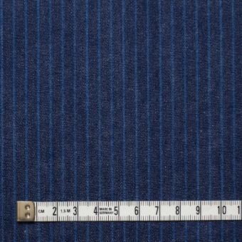 コットン×ストライプ(インディゴ)×デニム サムネイル4