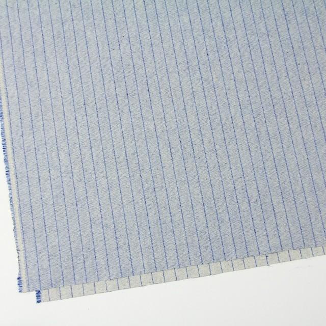 コットン×ストライプ(サックスブルー)×デニム イメージ2