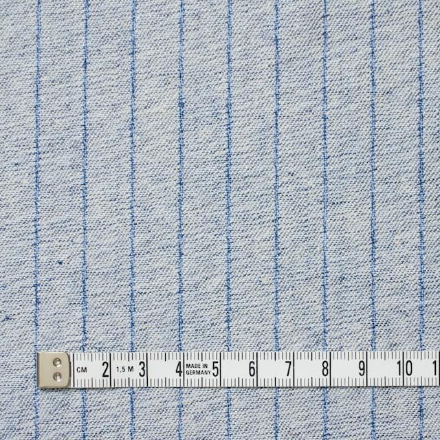 コットン×ストライプ(サックスブルー)×デニム イメージ4