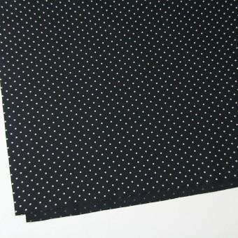 コットン×ドット(ブラック)×ブロード サムネイル2