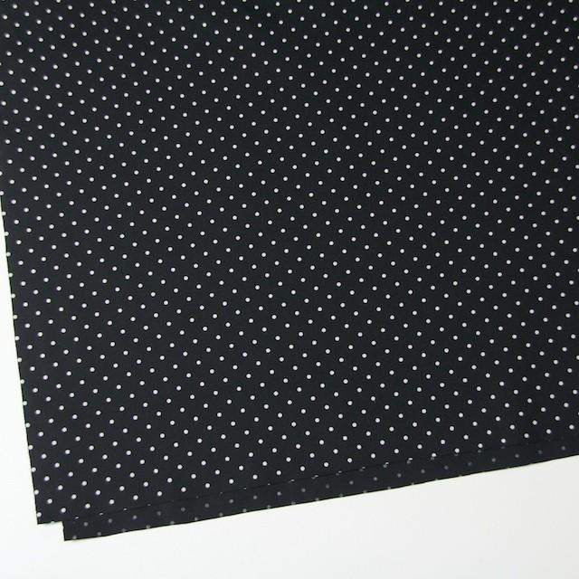 コットン×ドット(ブラック)×ブロード イメージ2