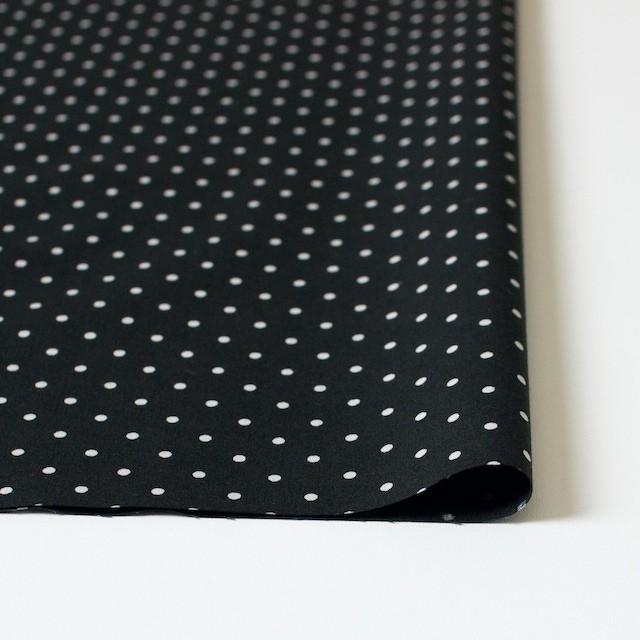 コットン×ドット(ブラック)×ブロード イメージ3