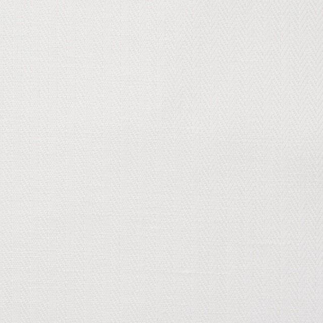 リネン&コットン×無地(オフホワイト)×ヘリンボーン_全5色 イメージ1