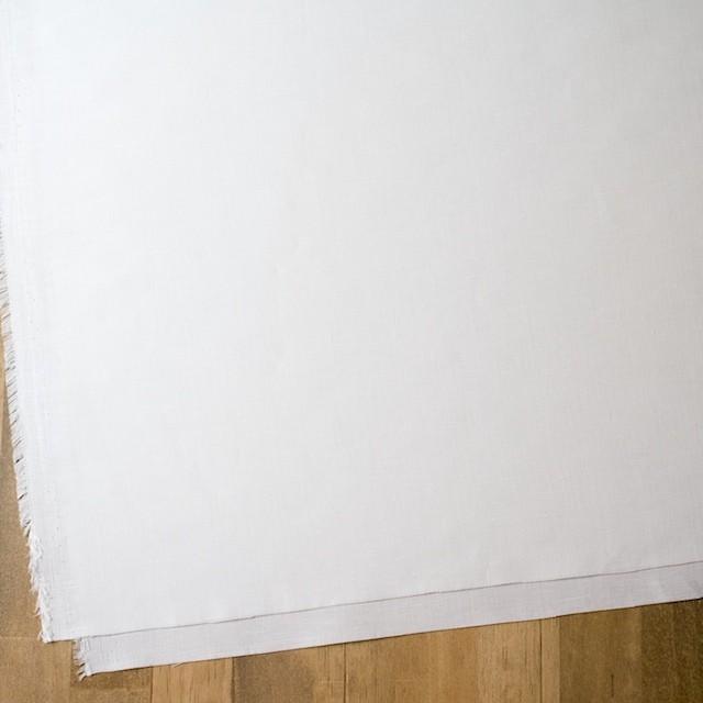 リネン&コットン×無地(オフホワイト)×ヘリンボーン_全5色 イメージ2