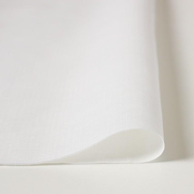 リネン&コットン×無地(オフホワイト)×ヘリンボーン_全5色 イメージ3