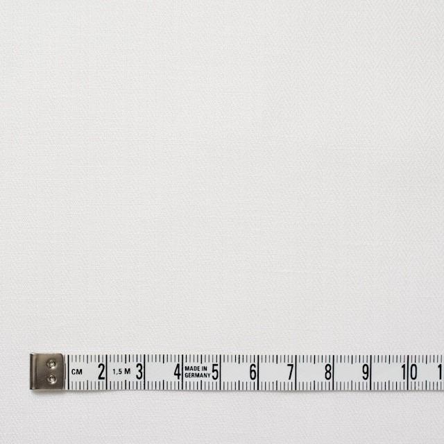 リネン&コットン×無地(オフホワイト)×ヘリンボーン_全5色 イメージ4