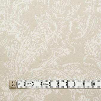 コットン&ポリウレタン×ペイズリー(ベージュ)×サテンストレッチ_全2色 サムネイル4