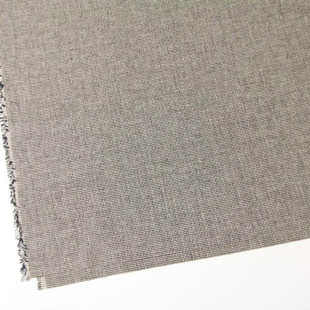 コットン×チェック(ブラック)×千鳥格子_全2色 イメージ2