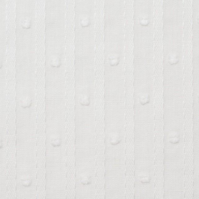 コットン×ドット(オフホワイト)×ボイルジャガード_全3色 イメージ1