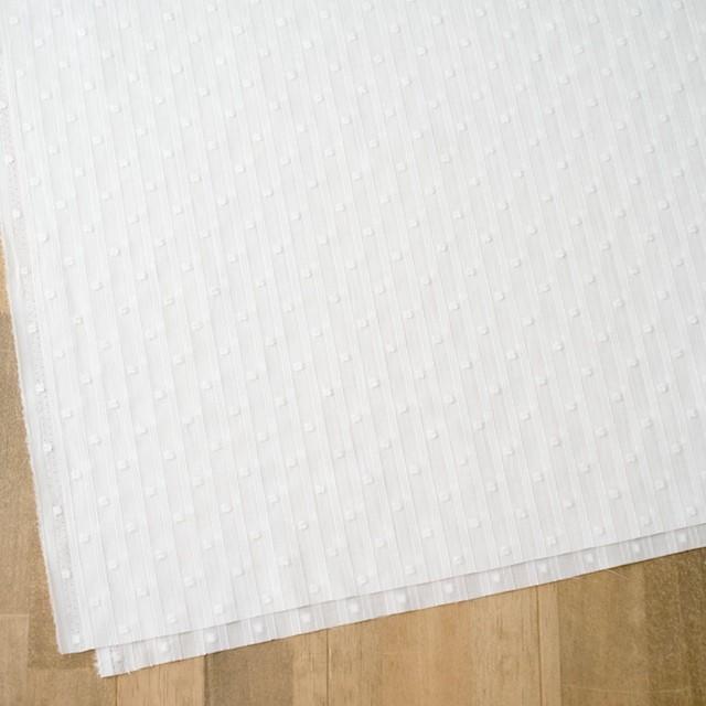 コットン×ドット(オフホワイト)×ボイルジャガード_全3色 イメージ2