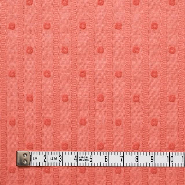 コットン×ドット(オレンジ)×ボイルジャガード_全3色 イメージ4