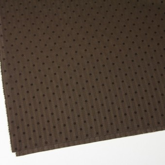 コットン×ドット(ブラウン)×ボイルジャガード_全3色 サムネイル2