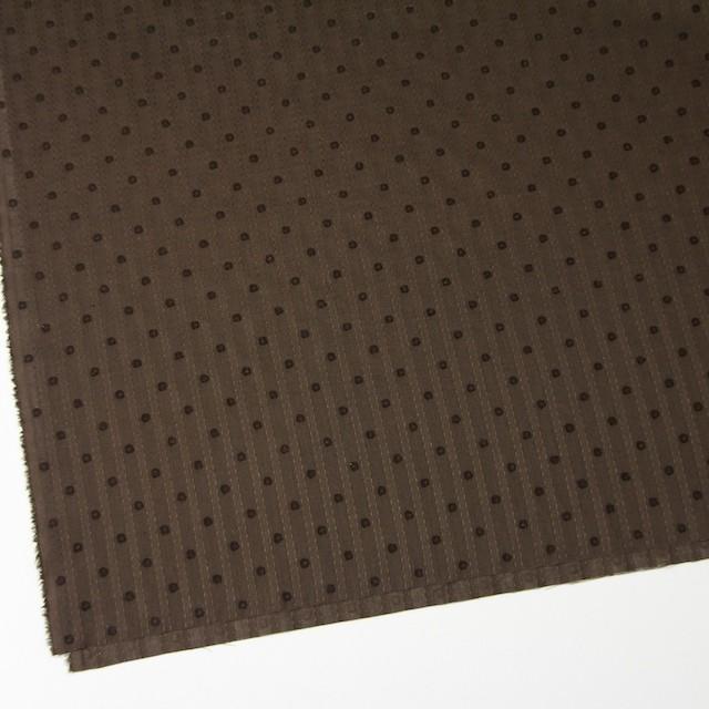 コットン×ドット(ブラウン)×ボイルジャガード_全3色 イメージ2