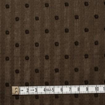 コットン×ドット(ブラウン)×ボイルジャガード_全3色 サムネイル4