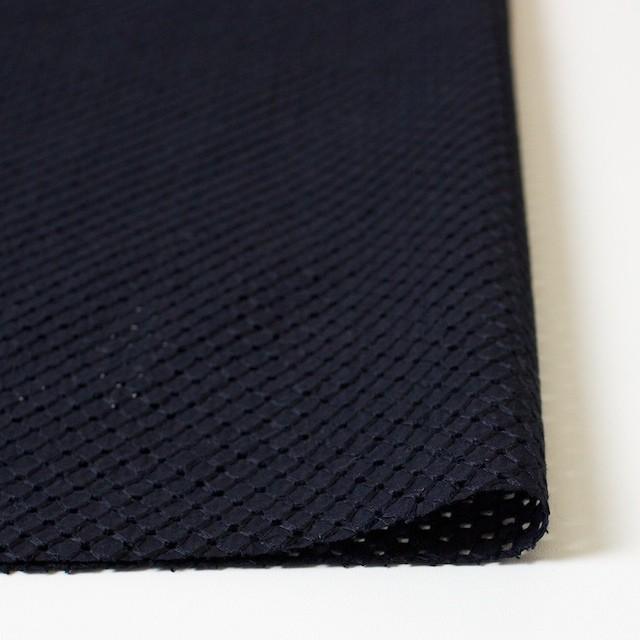コットン×リング(ライトブラック)×ローン刺繍 イメージ3