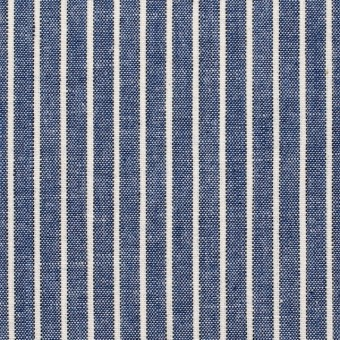 コットン×ストライプ(ブルー)×ダンガリー サムネイル1