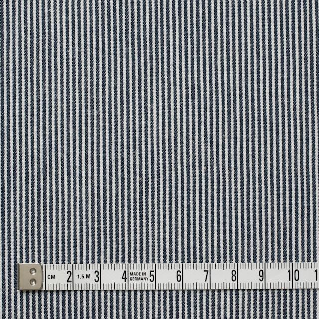 コットン×リネン混×ストライプ(ピンストライプ)×デニムヒッコリー_全4柄 イメージ4