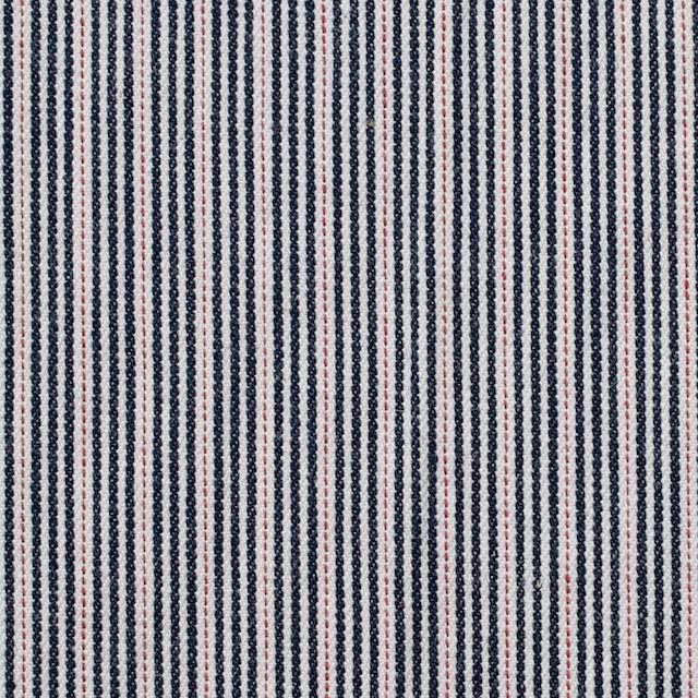 コットン×リネン混×ストライプ(トリプルストライプ)×デニムヒッコリー_全4柄 イメージ1