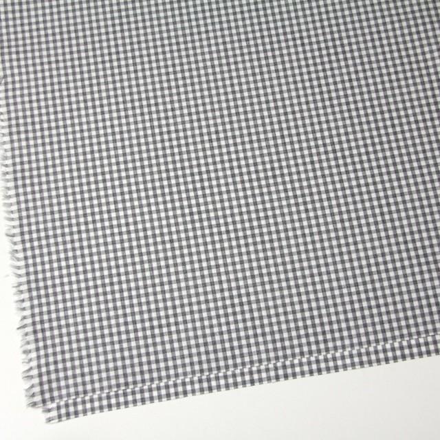 コットン×チェック(グレー)×ブロード イメージ2