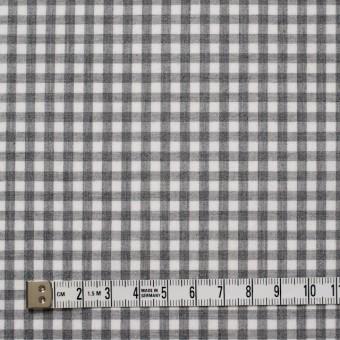 コットン×チェック(グレー)×ブロード サムネイル4