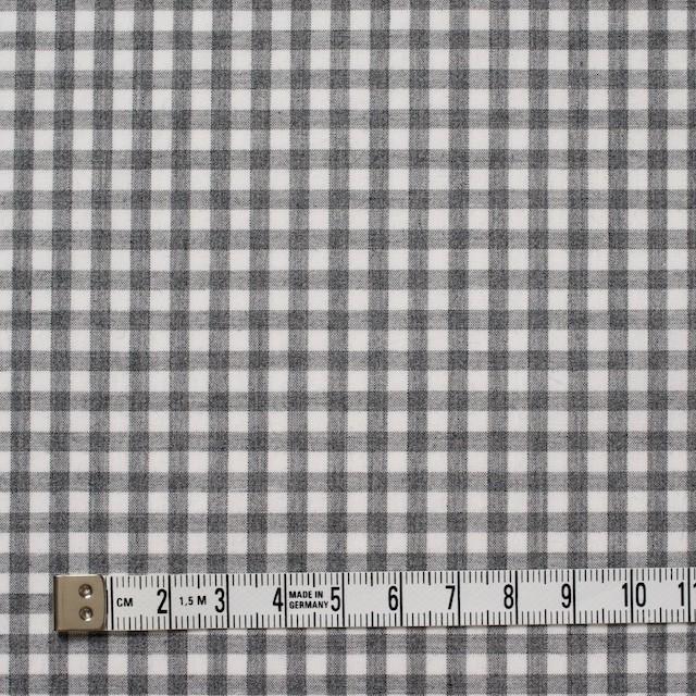 コットン×チェック(グレー)×ブロード イメージ4