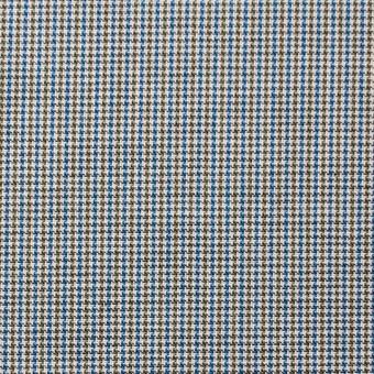 コットン×チェック(ネイビー&オリーブ)×千鳥格子_全2色 サムネイル1