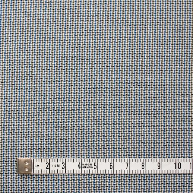 コットン×チェック(ネイビー&オリーブ)×千鳥格子_全2色 イメージ4