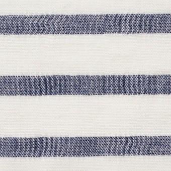 コットン×ボーダー(オフホワイト)×Wガーゼ_全2色 サムネイル1