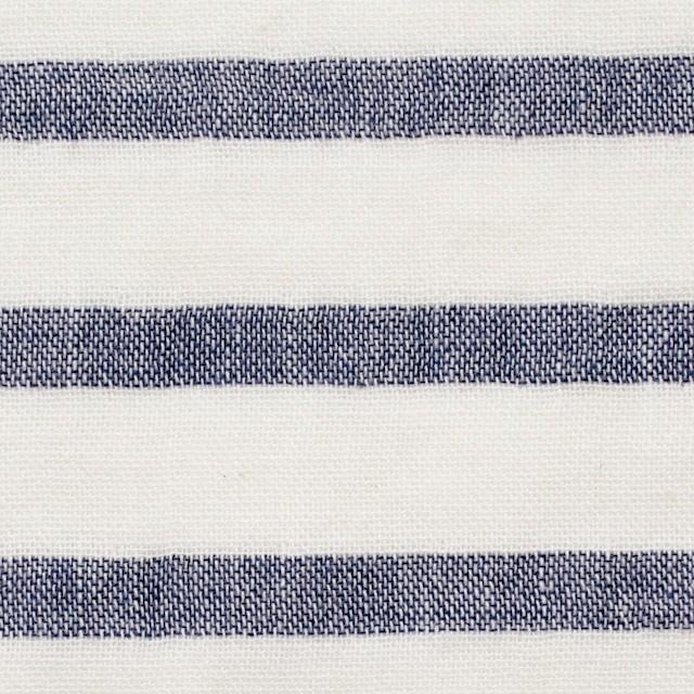 コットン×ボーダー(オフホワイト)×Wガーゼ_全2色 イメージ1