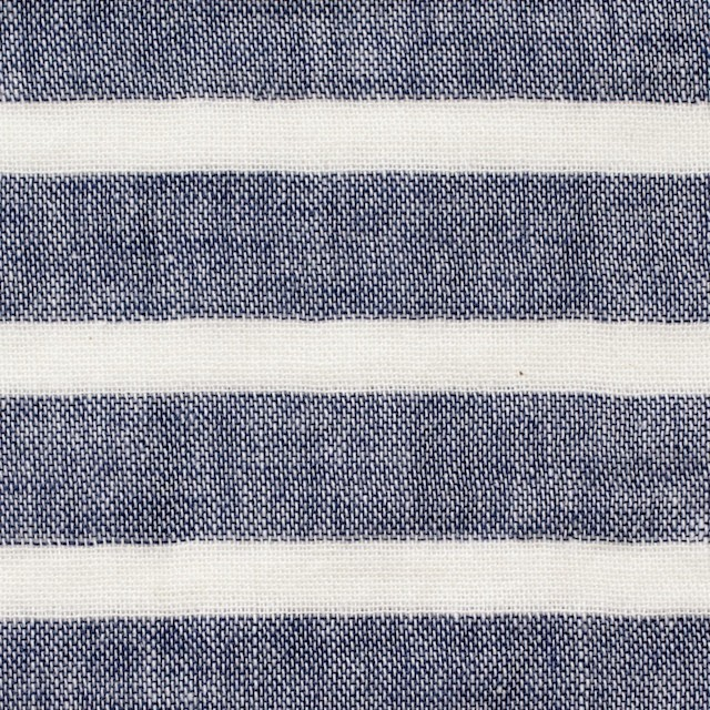 コットン×ボーダー(ブルー)×Wガーゼ_全2色 イメージ1