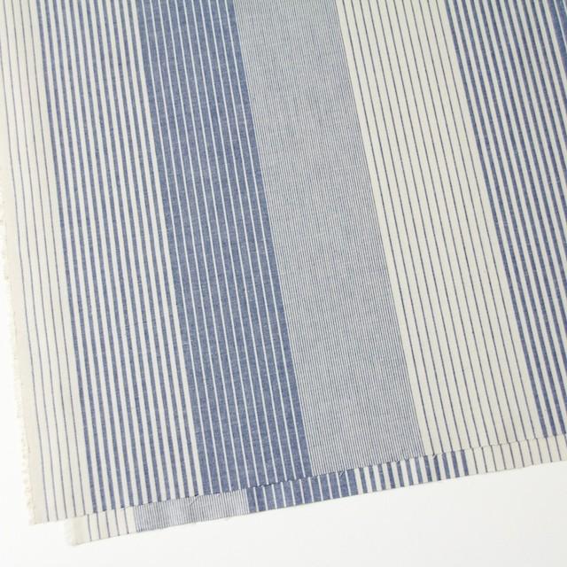 コットン×ストライプ(キナリ&ブルー)×ダンガリー イメージ2