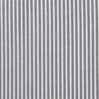 コットン&リネン×ストライプ(グレー)×コードレーン_全5色 サムネイル1