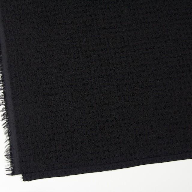 ポリエステル×チェック(ブラック)×ジャガード イメージ2