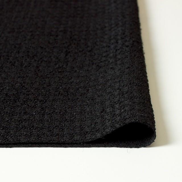 ポリエステル×チェック(ブラック)×ジャガード イメージ3