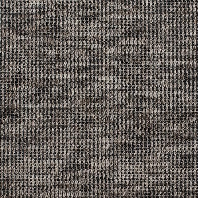 リネン&コットン×ミックス(ブラウン)×スムースニット_全2色 イメージ1