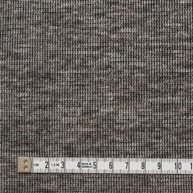 リネン&コットン×ミックス(ブラウン)×スムースニット_全2色 イメージ4