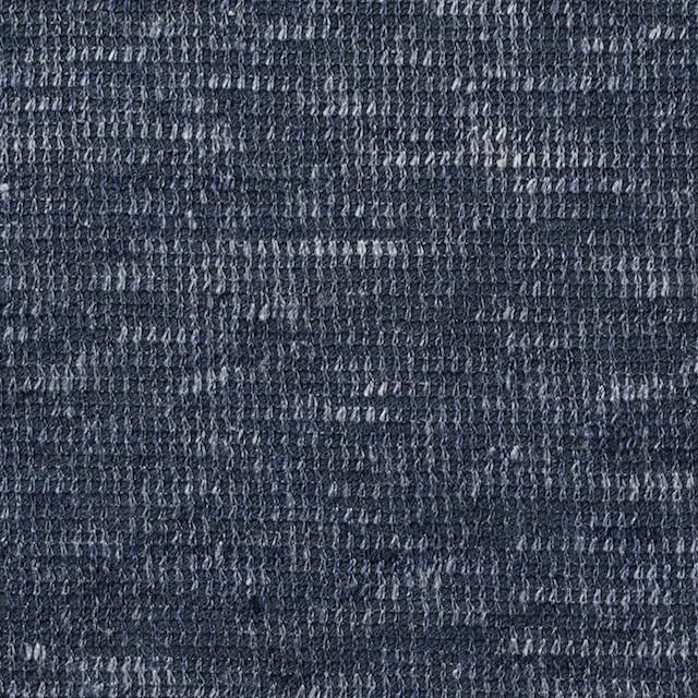 リネン&コットン×ミックス(ブルーグレー)×スムースニット_全2色 イメージ1