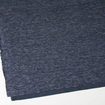 リネン&コットン×ミックス(ブルーグレー)×スムースニット_全2色 サムネイル2