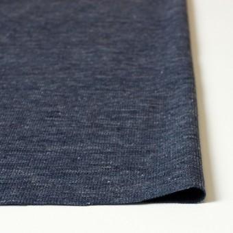リネン&コットン×ミックス(ブルーグレー)×スムースニット_全2色 サムネイル3