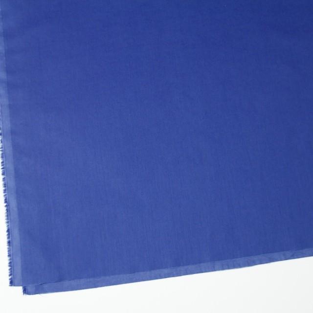 コットン×無地(ロイヤルブルー)×ボイル_全4色 イメージ2