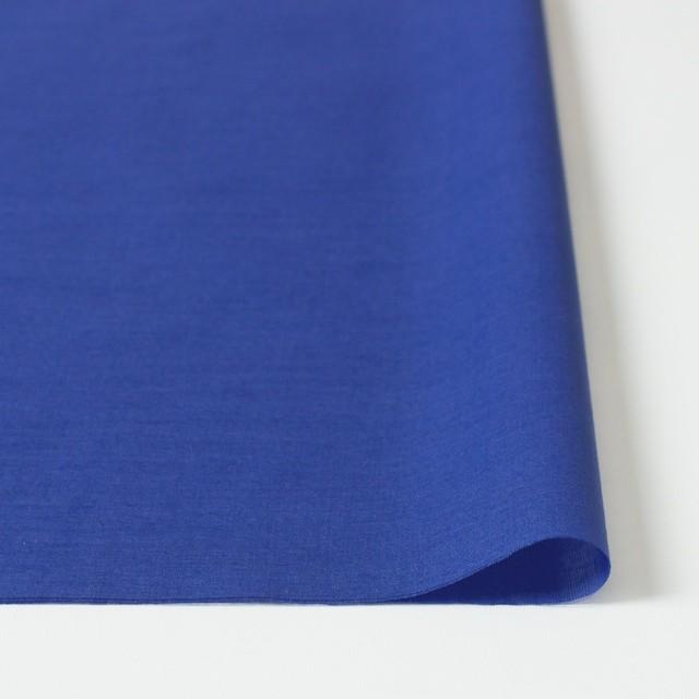 コットン×無地(ロイヤルブルー)×ボイル_全4色 イメージ3