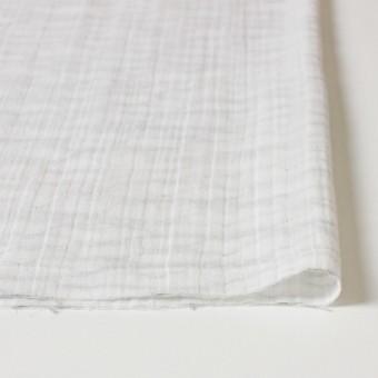 コットン×ウェーブ(オフホワイト&グレー)×Wガーゼ_全4種 サムネイル3