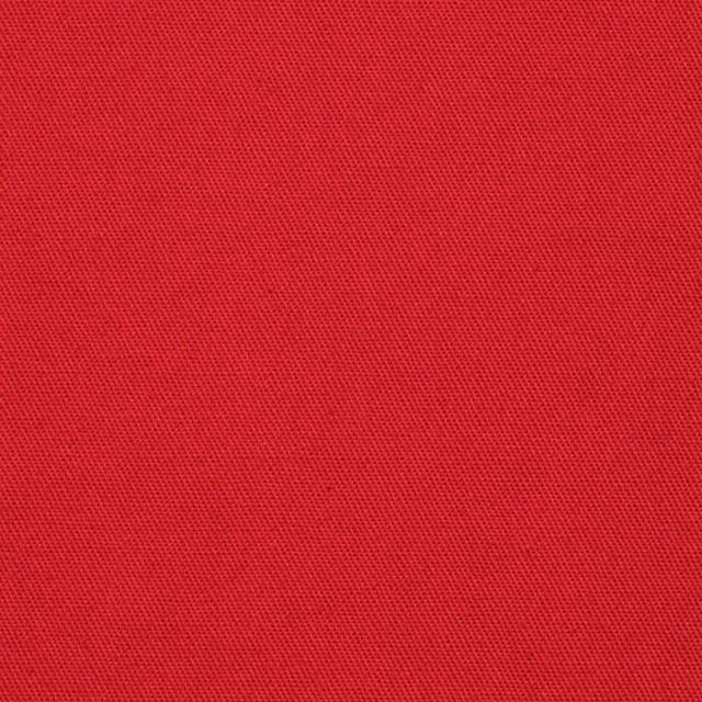 コットン×無地(レッド)×薄チノクロス イメージ1