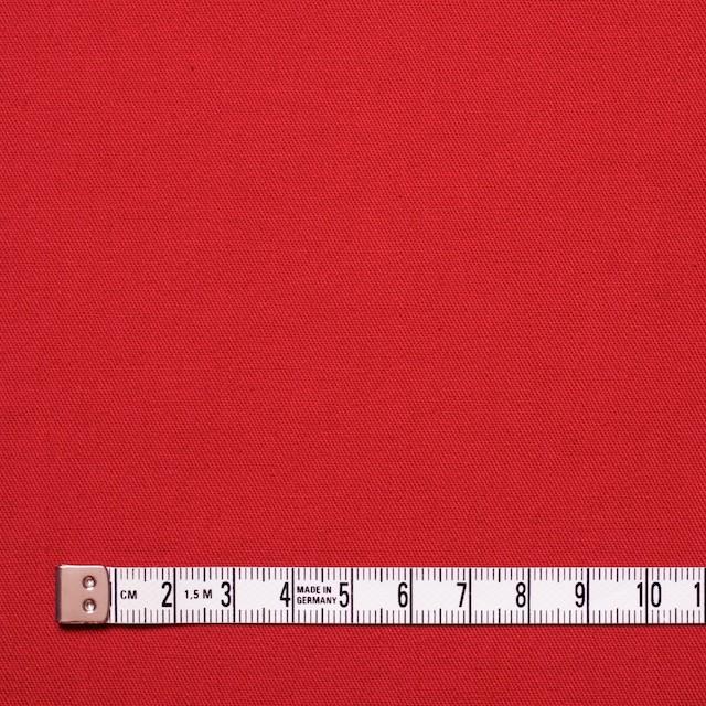 コットン×無地(レッド)×薄チノクロス イメージ4