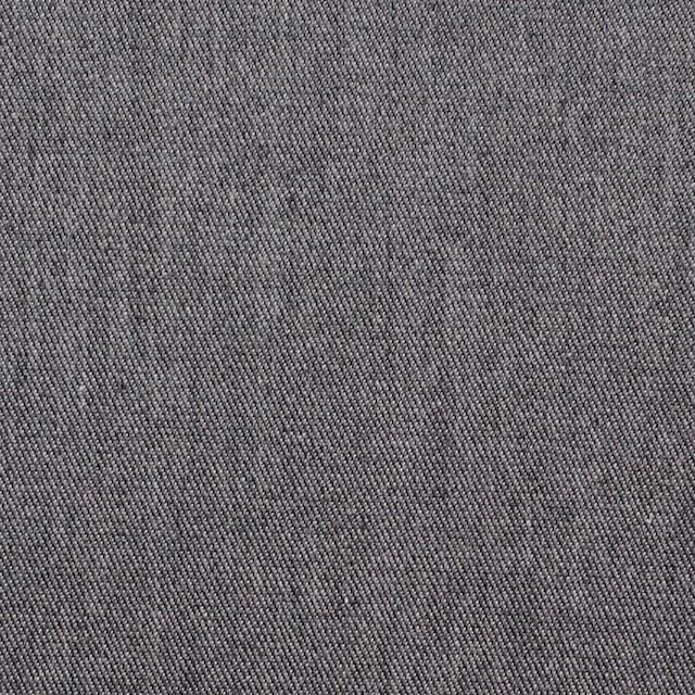 コットン&ポリウレタン×無地(グレー)×薄チノクロスストレッチ イメージ1