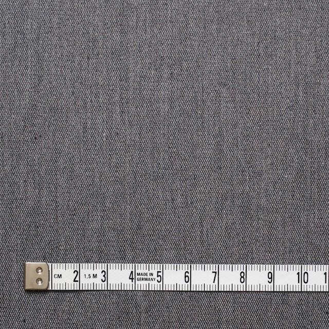 コットン&ポリウレタン×無地(グレー)×薄チノクロスストレッチ イメージ4